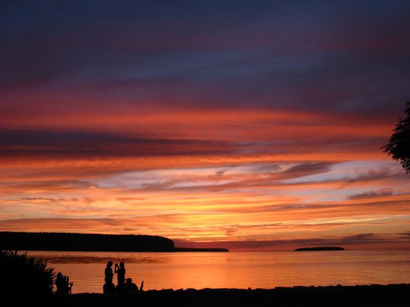 zmetro com  an ephraim sunset