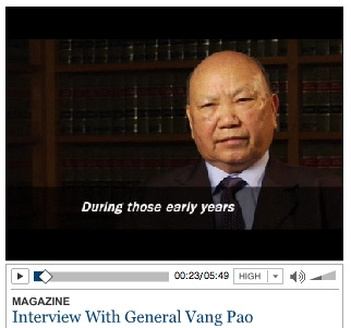 Tim Weiner Interviews Vang Pao