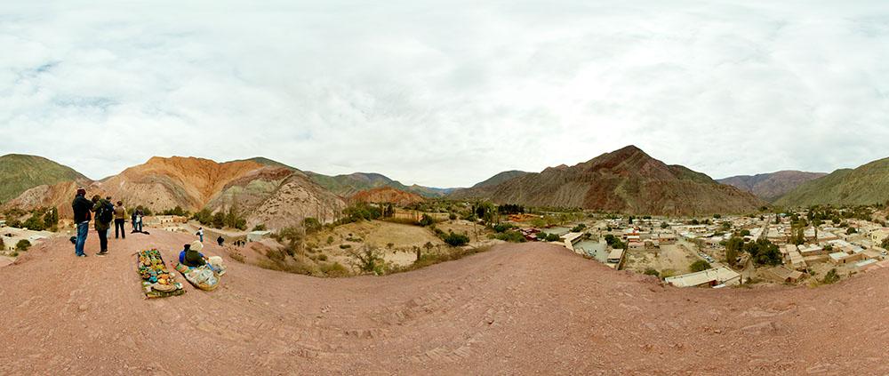 Salta Area Argentina Panoramas