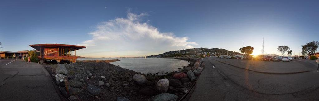 The Spinnaker Sausalito, CA Panorama