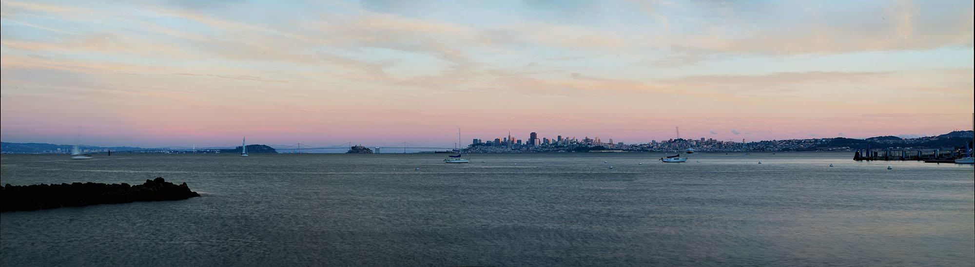 San Francisco Bay from Sausalito