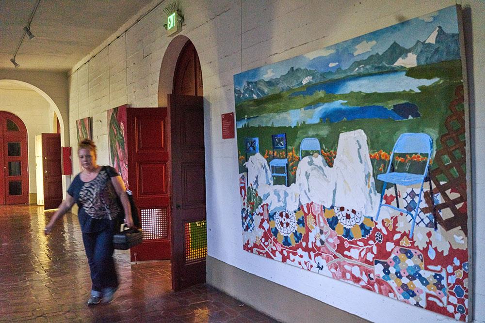 Diego rivera mural at the san francisco art institute for Diego rivera mural san francisco art institute