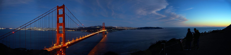 Sunset: Golden Gate Bridge San Francisco, CA