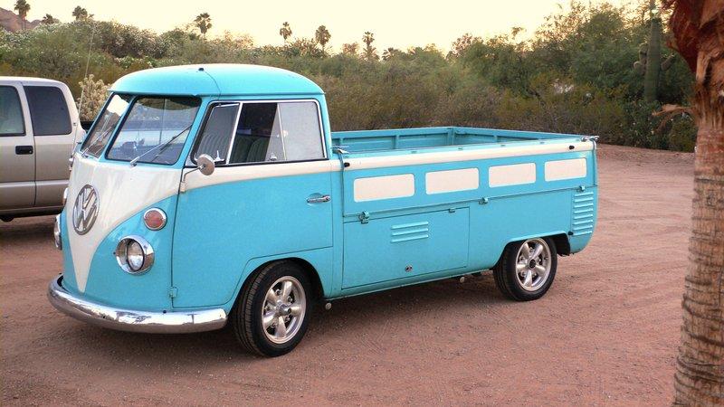 classic volkswagen transporter pickup. Black Bedroom Furniture Sets. Home Design Ideas